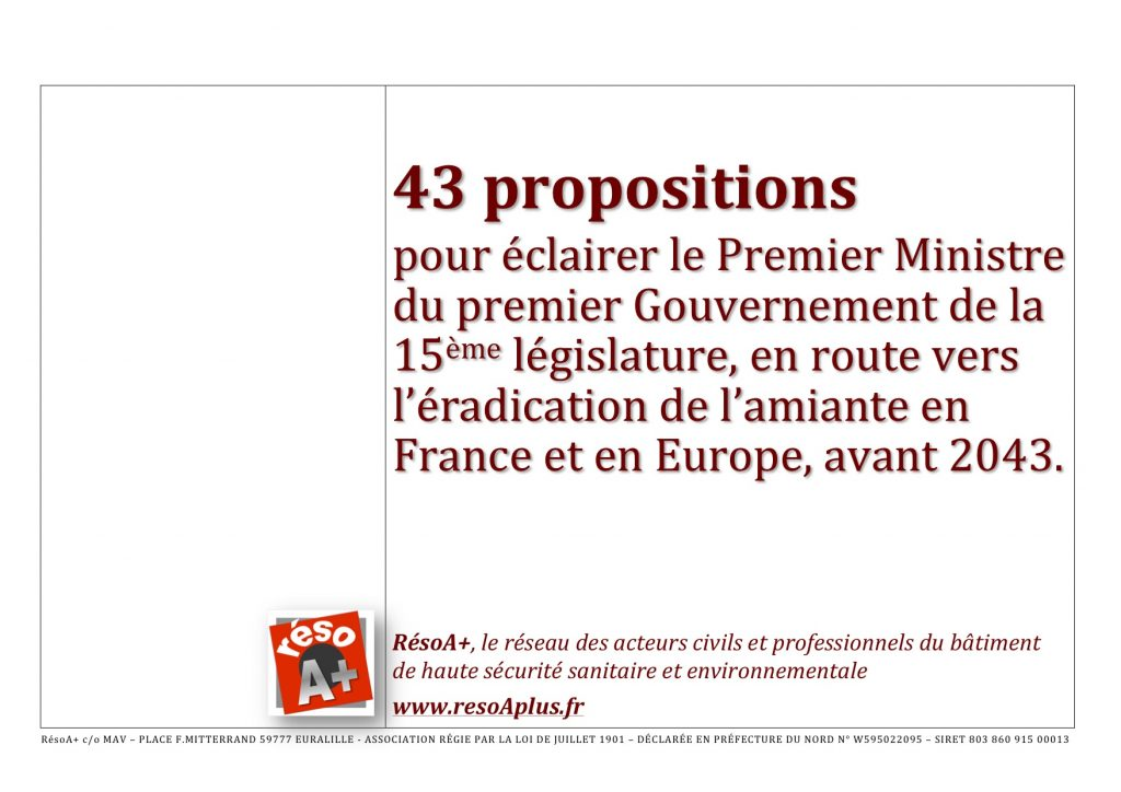 43 PROPOSITIONS